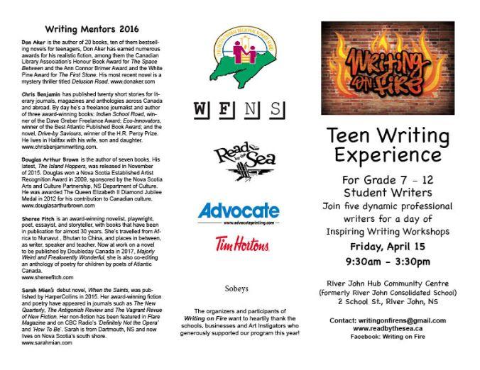 WOF Teen Brochure 2016 FINAL